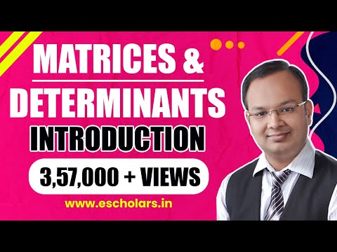 Business Mathematics   Matrices & Determinants   Part-1   Chandan Poddar