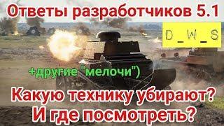 Какие танки выводят из wot blitz? И где посмотреть? | D_W_S | Wot Blitz