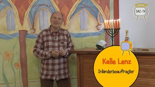 Sancta Corona TV, Folge 3 mit Kalle Lenz als Inländerbeauftragter