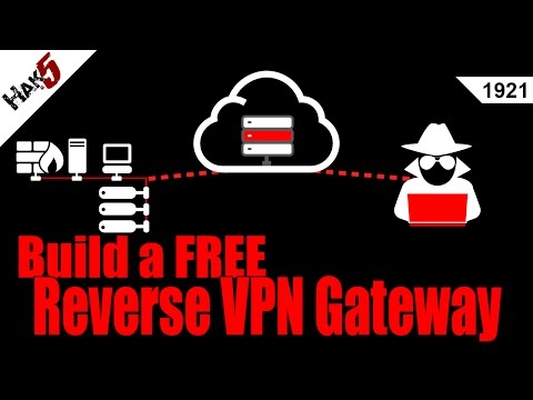 Access Internal Networks with Reverse VPN connections – Hak5 1921