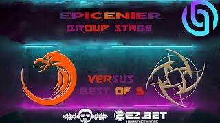 TNC Predator vs NIP Game 2 | EPICENTER 2019 | Best of 3 | Group Stage |