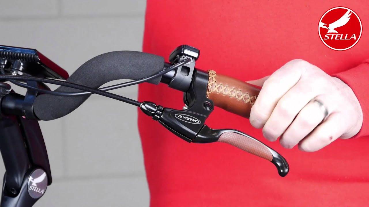 Achterrem afstellen elektrische fiets
