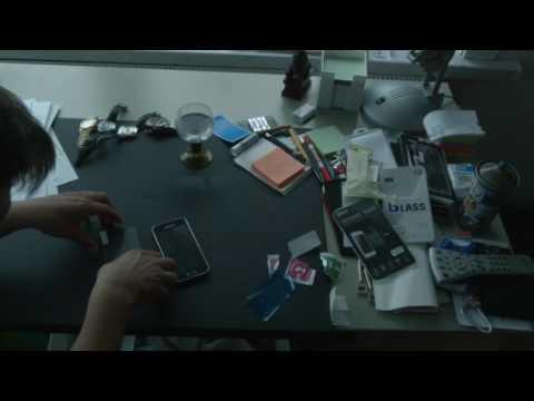 Display Docs Samsung Galaxy S5mini Anwendungsvideo Panzerglas Displayschutzglas