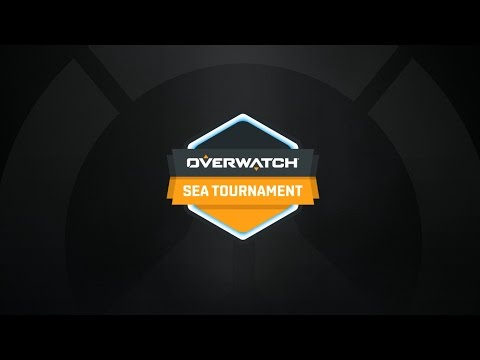 Overwatch SEA Tournament - Open Qualifier Day 1 | A-MEI-ZING -VS- M8 Zeta