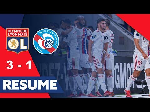 Olympique Lyonnais 3-1 Racing Club de Strasbourg A...