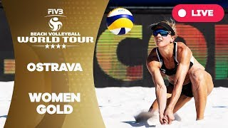 Ostrava 4-Star - 2018 FIVB Beach Volleyball World Tour - Women Gold Medal Match
