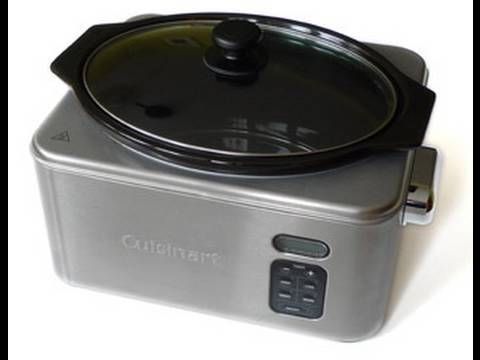 FoodTube test Cuisinart Electric Slow Cooker PSC650E