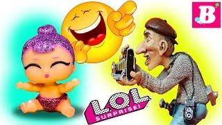 Смешные Мультики с куклами ЛОЛ Сюрприз #15 / Lalaloopsy Вероника