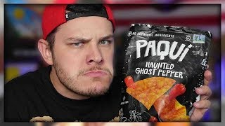 MAN-CHILD ATTEMPTS THE GHOST PEPPER CHIP CHALLENGE