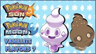 Vanillite  - (Pokémon) - NEW Vanillite Flavors?! Alolan Forms?! Pokémon Sun & Moon