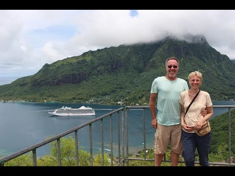 SOUTH PACIFIC POLYNESIAN CRUISE – video highlights HD – January 2018