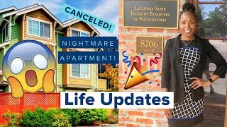 LIFE UPDATES VLOG | APARTMENT NIGHTMARE STORYTIME | I PASSED MY BOARD EXAMS | What's Been Going On!