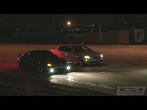 Twin Turbo Pontiac G8 GT vs 03 Ford Cobra