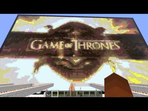 Game Of Thrones Theme On Noteblocks Minecraft Map