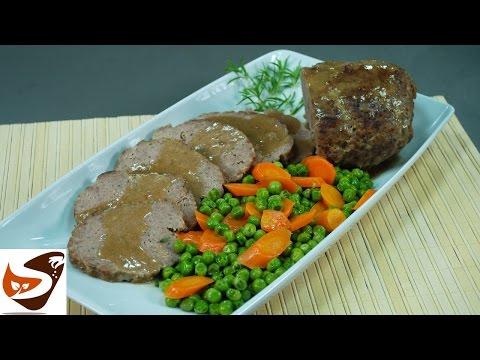 Polpettone al forno: con carne e verdure – secondi piatti (Meatloaf recipe)