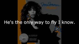 "Donna Summer - Thinkin' 'bout My Baby LYRICS SHM ""All Systems Go"" 1987"