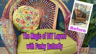 How To Create Boho Layers By Renee Lynn Of Funky Butterfly