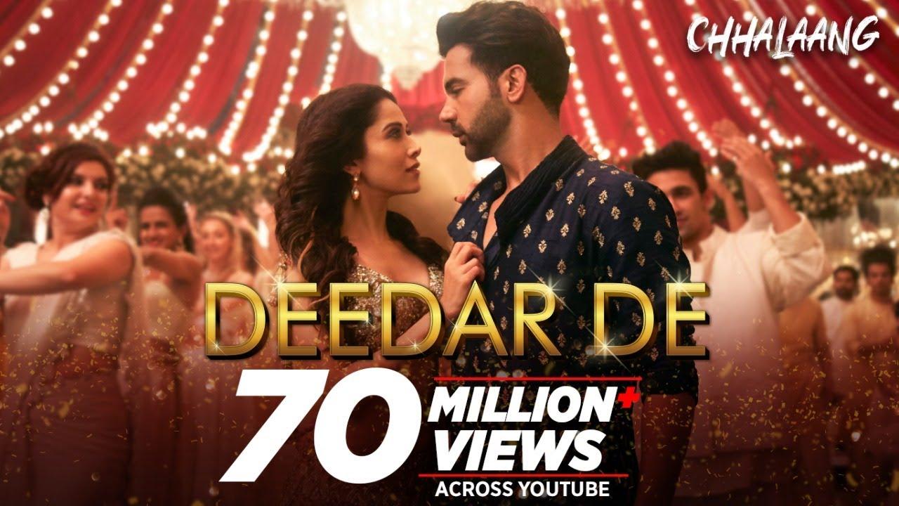 Deedar De Lyrics - Chhalaang Full Song Lyrics | Rajkummar R, Nushrratt B - Lyricworld