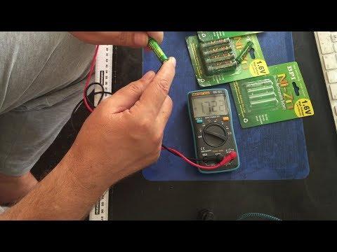 Аккумуляторы AA и  AAA 1,6V