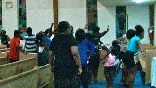 Youth Explosion *Praise Breaks* Holy Ghost all Over the Place