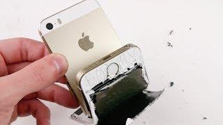 Смотреть онлайн Согнется ли IPhone?