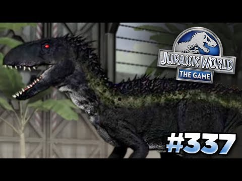 INDORAPTOR IN THE GAME?!? || Jurassic World - The Game - Ep336 HD