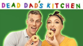 Dead Dad's Kitchen | Peanut Butter Blossoms w/ Billy Scafuri