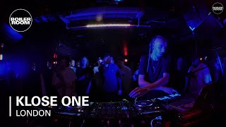 Klose One - Live @ Boiler Room London 2015