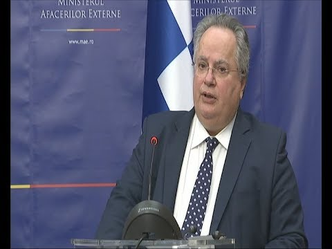 Στο Βουκουρέστι ο υπουργός Εξωτερικών Νίκος Κοτζιάς