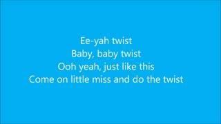 Chubby checker the twist lyrics