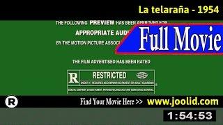 Watch: La telaraña (1954) Full Movie Online