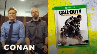 "Clueless Gamer: Conan Reviews ""Call Of Duty: Advanced Warfare""  - CONAN on TBS"