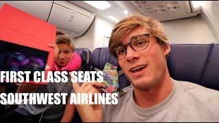 first class on southwest airlines
