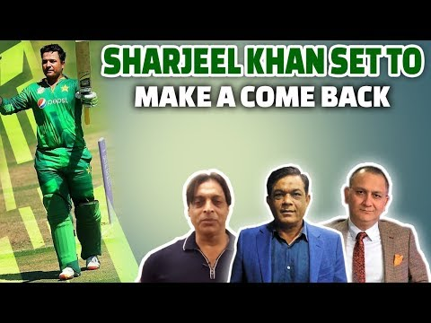Sharjeel Khan set to make a come back | Caught Behind Ft. Shoaib Akhtar