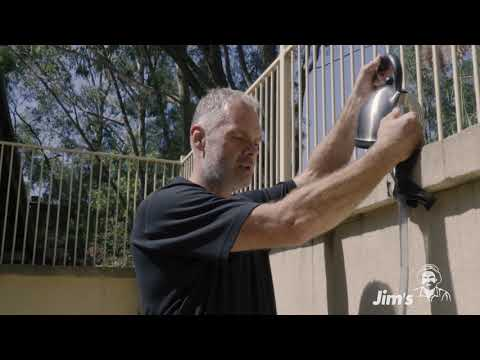, title : 'How to get a level on an uneven wall with Tim from Jim's Handyman - www.jims.net - 131 546