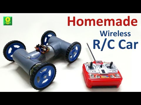 How to make Wireless Remote Controlled Car at home