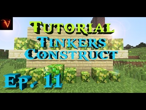 Minecraft | TUTORIAL DEL MOD TINKERS CONSTRUCT!!! EP. 11 - ORE BERRIES!!