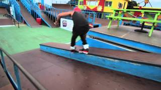 preview picture of video 'Bladers Freestyle - Napier New Zealand'