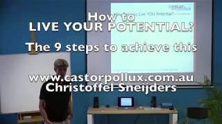 The 9 steps to Live YOUR Potential