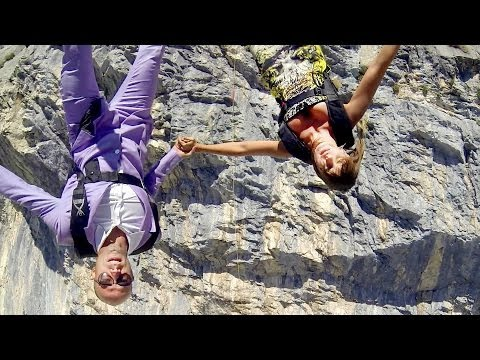 Sexy Italians Turn Base Jumping Into Fashion Catwalk In The Sky