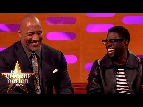 Kevin Hart Can't Believe Where Dwayne Johnson Was Born | The Graham Norton Show (видео)
