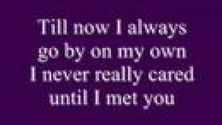 Alone By Celine Dion W Lyrics