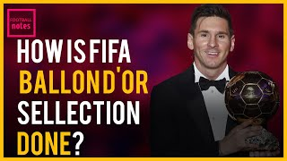 HOW  FIFA  BALLON D'OR VOTE IS DONE, POINTS CALCULATED AND WINNER  DECIDED