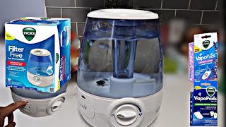 Vicks Humidifier   How to insert vapopads (SIMPLE)
