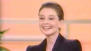 Audrey Hepburn Interview On Donahue (not Complete)--1990