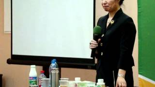 Ван Ю Мэй о зубной пасте Тяньши..wmv