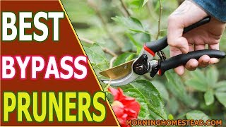 Top 8 Best Bypass Pruners, Pruning Shears for 2019