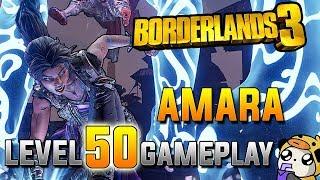 Borderlands 3 Level 50 Amara Gameplay! Trial of Instinct