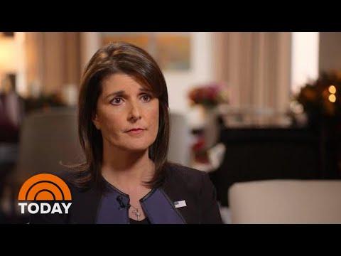 Nikki Haley Speaks Out On Jamal Khashoggi Murder, Working With President Donald Trump | TODAY