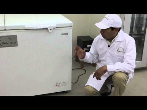 Uso y manejo de la congeladora